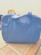 Vera Bradley Sky Blue Preppy Poly Versatile Travel Organizer