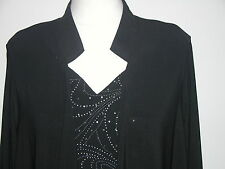 """POLY SPANDEX SILVER SPOT CAMISOLE - TOP 38"""" MED- NWOT"""