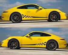 SPK347 porsche 911 carrera racing stripes sticker decal turbo sports coupe euro
