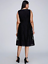Lane-Bryant-Lace-Fit-Flare-Dress-Ribbed-Trim-14-22-26-28-Black-Evening-1x-3x-4x thumbnail 3