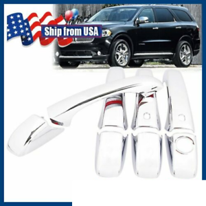 2011-2014 Dodge Durango Chrome Trim Door Handle Covers Ships in USA Fast