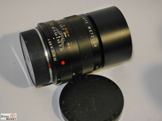 Leitz Wetzlar Macro-Elmar-R 1:4/100mm (Made in Germany 11232) Objektiv lens E55