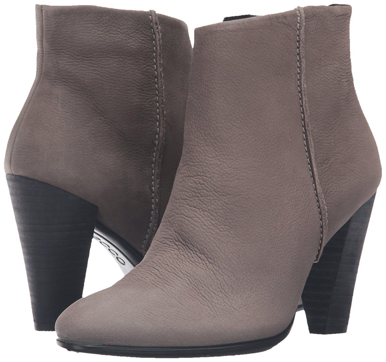 Ecco Mujeres Mujeres Mujeres forma 75 botas al Tobillo Cremallera Bota De Corte Bajo Resbalón En gris EU 40, EE. UU. 9-9.5 345e88