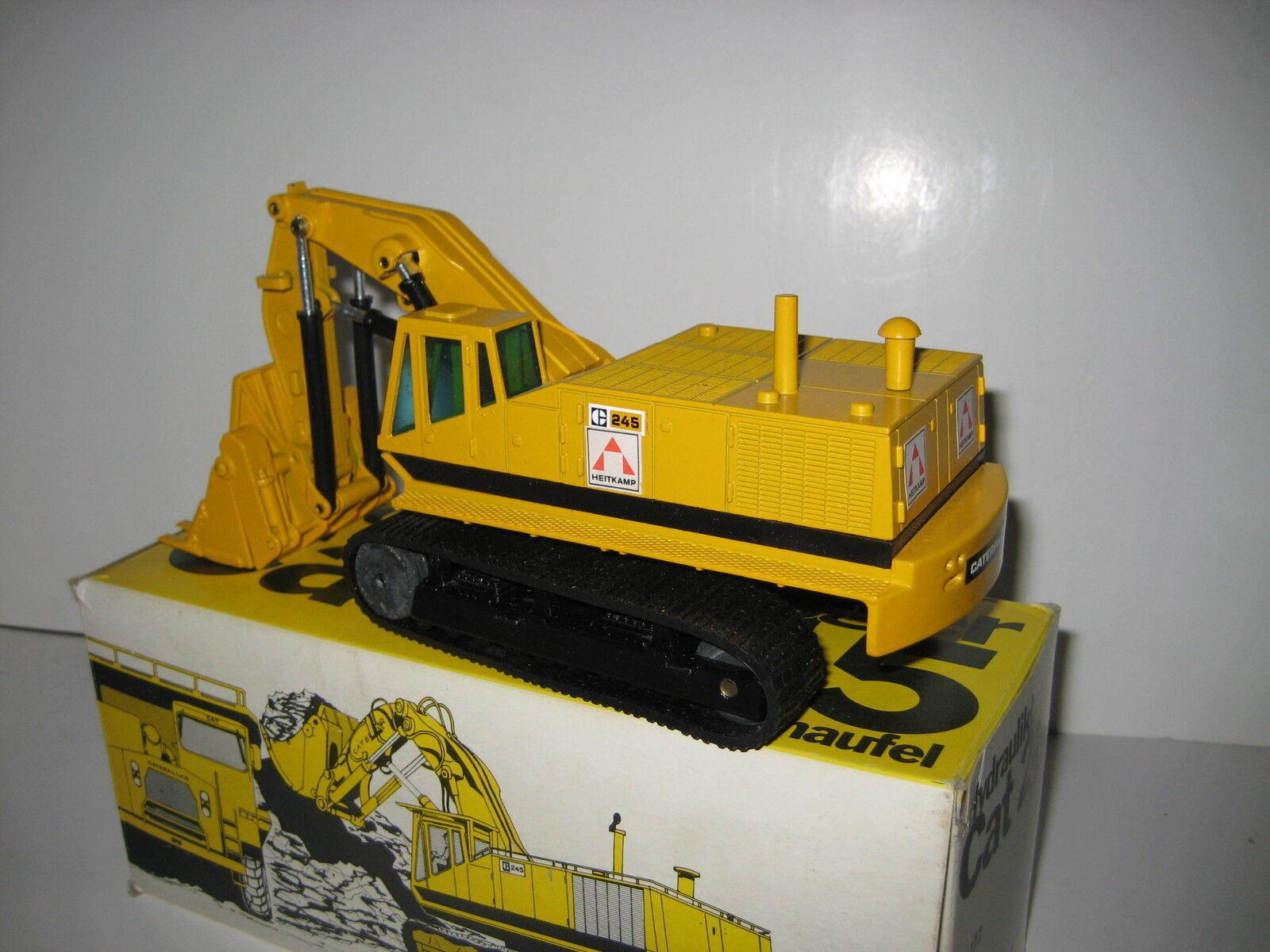 Caterpillar 245 excavadoras alta cuchara Heitkamp  177 NZG 1 50 OVP