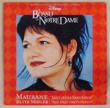 Le Bossu de Notre Dame CD's Maurane/Bette Middler 1996
