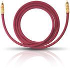 Oehlbach NF 214 Sub Subwoofer Cinch-kabel Bordeaux 10.00m