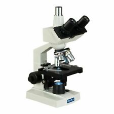 Omax 40x 2500x Led Trinocular Lab Compound Microscope With Mechanical Stage