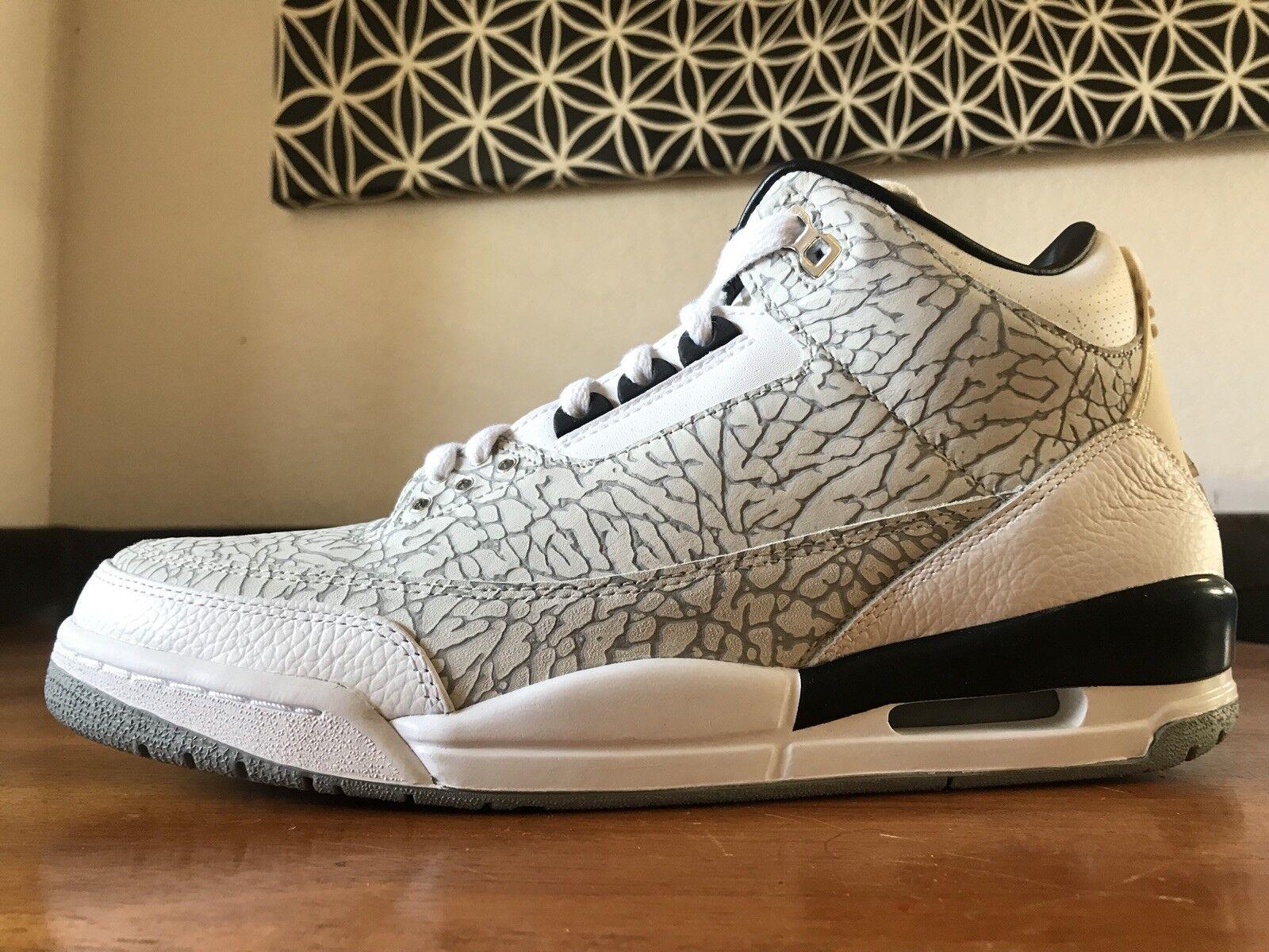 2018 Flip DS Nike Air Jordan Retro 3 Flip 2018 315767-101 talla III raras ea22ae