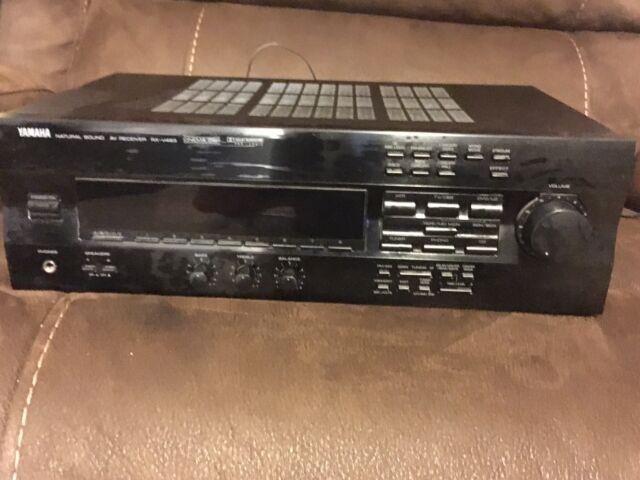 yamaha natural sound av receiver rx-v493