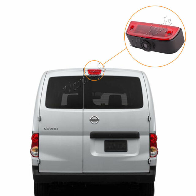 3rd Brake Light Replacement Backup Camera For 2012-Up Nissan NV1500-2500-3500