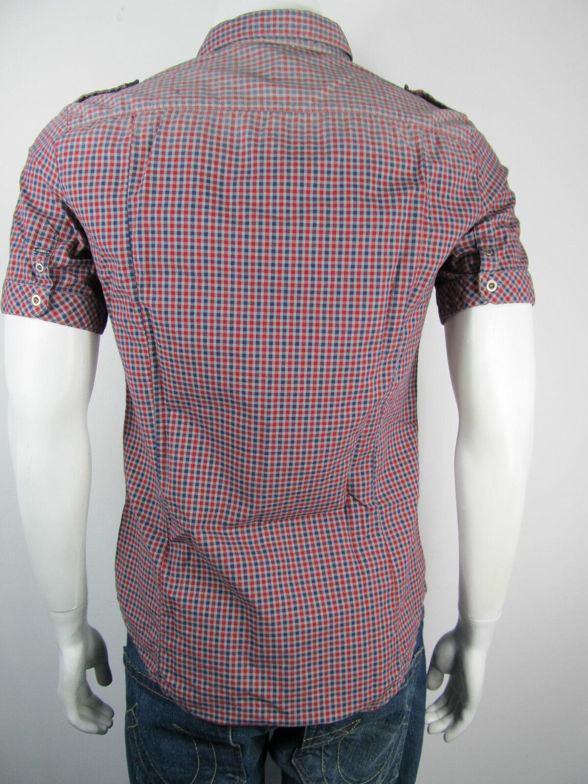 Bray Steve Alan Shirt Camicia Camicia Camicia camisas Camicia 12r5005 Nuovo A Quadri M e6095c