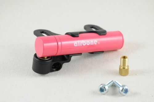 New Airbone ZT-702 Supernova Ultra Compact Bicycle Frame Pump 59g Only Pink