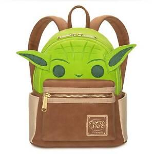 Disney Star Wars Yoda Pop! Mini Backpack New with Tag