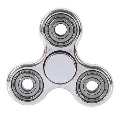 Spinner Fidget Hand Toy Edc Tri Desk Focus Finger Kids Adhd Stress Pro Metal new