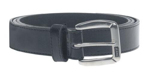 """D555 Par grand format DUKE homme ceinture noire Jeans Logo 44/"""" KS812 64/"""" grande taille"""