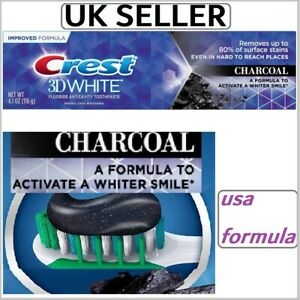 USA-FORMULA-Crest-3D-White-CHARCOAL-Mint-Whitening-Toothpaste-Arctic-Fresh