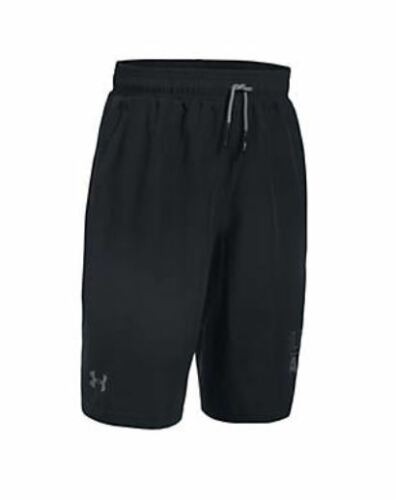 UNDER ARMOUR UA BOYS ACTIVATE SHORTS SIZE S M L XL RED BLACK NEW NWT