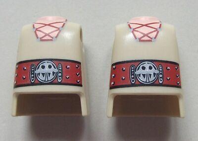 142799 Cuerpo cordones con cinturón grande 2u playmobil,body