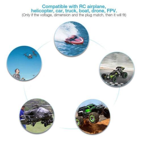 JADOUR LIPO BATTERY 6S 22.2V 5000MAH T PLUG 50C RC HELICOPTER CAR USA SELLER