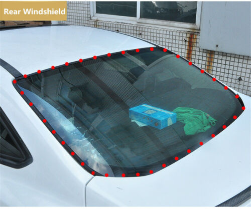 Car Sunroof Windshield Sealing Strips Trim Moulding Soundproof EPDM Rubber Seal