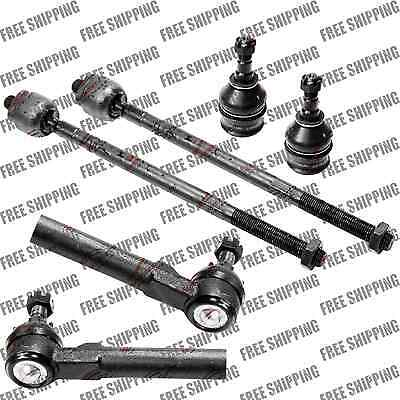 Front Outer /& Inner Tie Rod Ends KIT for Subaru Legacy Impreza Forester