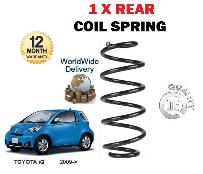 Für Toyota Iq 1.0i 1.33 1krfe 998ccm 2008-   Neu 1 X Hinten Schraubenfeder