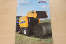 157142) New Holland BR 6080 6090 Combi Prospekt 12/2008
