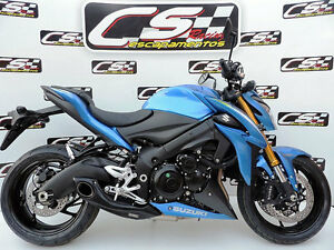 suzuki gsx s 1000 full system exhaust muffler cs racing. Black Bedroom Furniture Sets. Home Design Ideas
