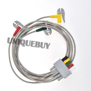 Details about For mindray EL6304A 3 clip type split ECG lead wire ECG  monitor accessories