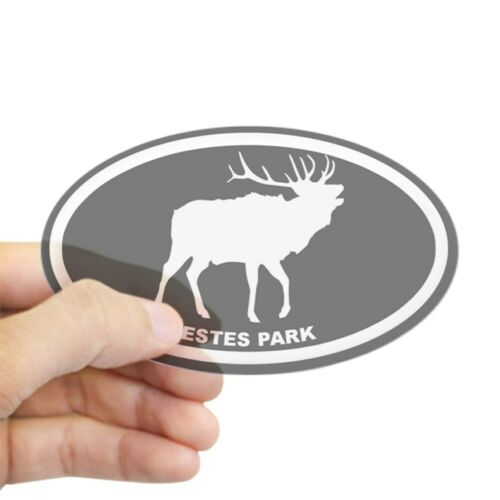 CafePress Estes Park Oval Bumper Sticker Euro Oval Car Decal 658075729