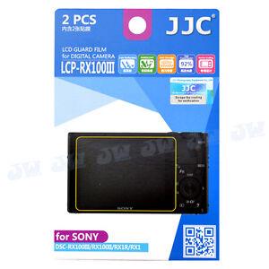 JJC-LCD-Protecteur-D-039-ecran-Feuille-De-Film-Fr-Sony-RX100-VII-VI-IV-III-II-RX1R-II-RX1