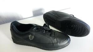 Omega-Black-408-E-Mens-Shoes-Sz-10-D-236