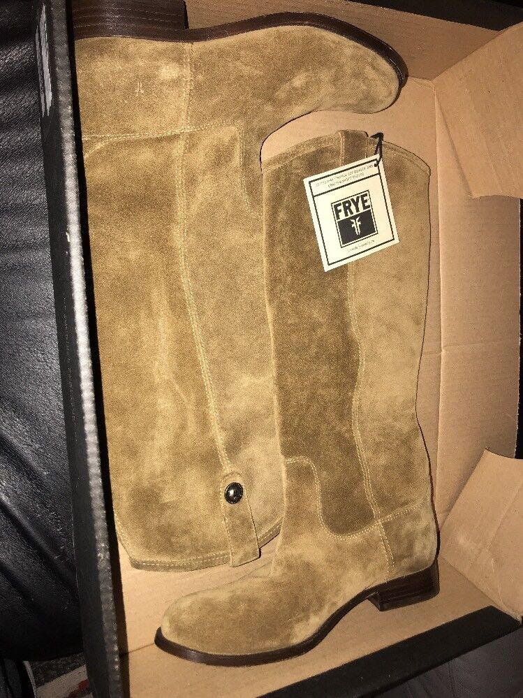 New Frye Cashew Suede Melissa Button Womens Boots Boots Boots 9.5 84f8e5