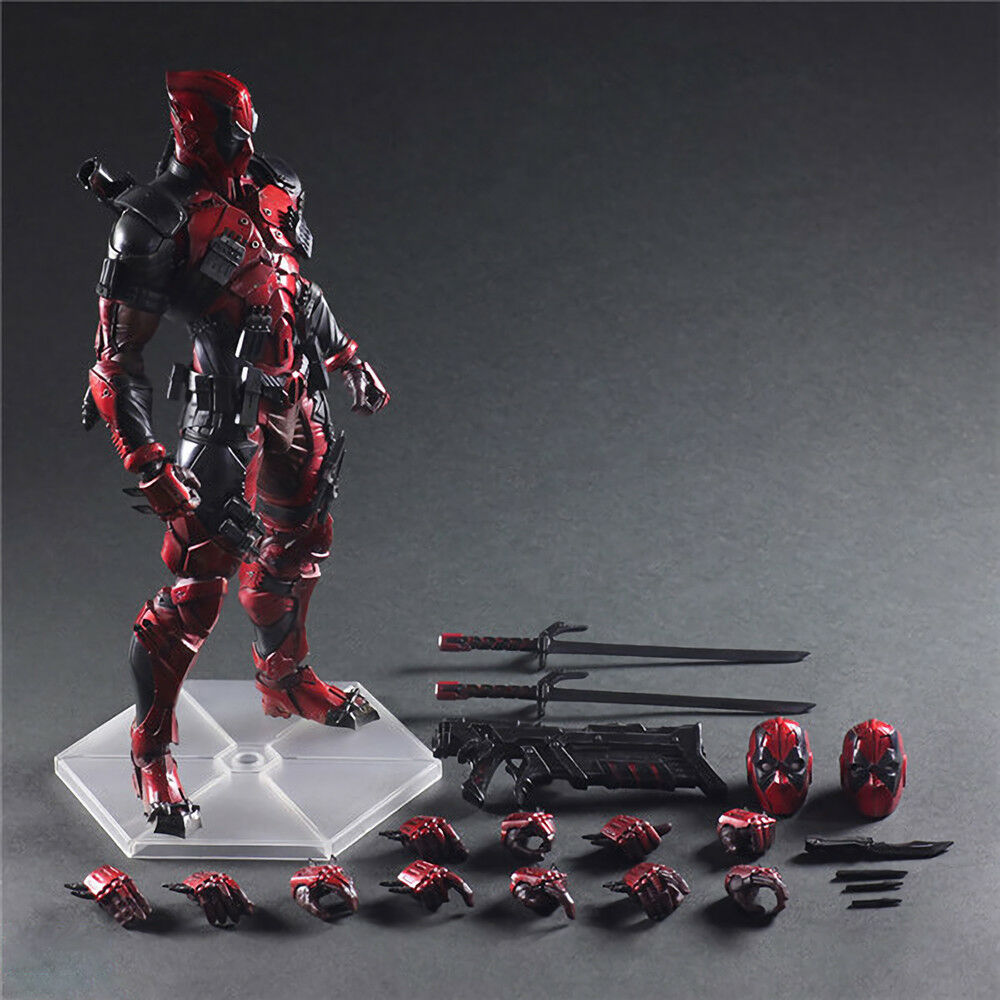 Hot Deadpool Marvel Variant Play Arts Kai Action Figure To Statue Display No Box
