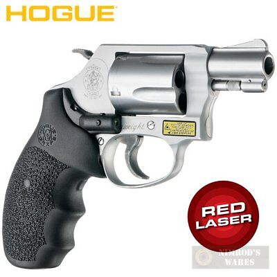 Hogue 60080 Smith & Wesson Laser Enhanced Grip J Frame Round Butt ...