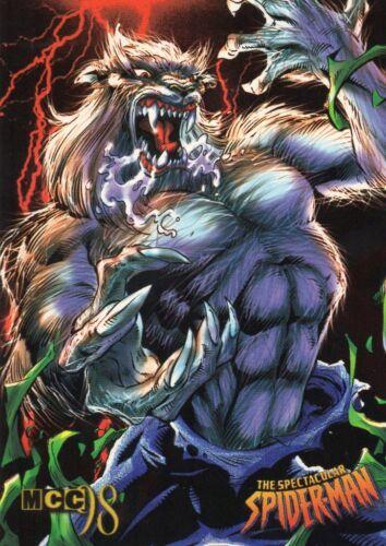 MCC 98 Marvel Super Hero    Individual Trading Cards