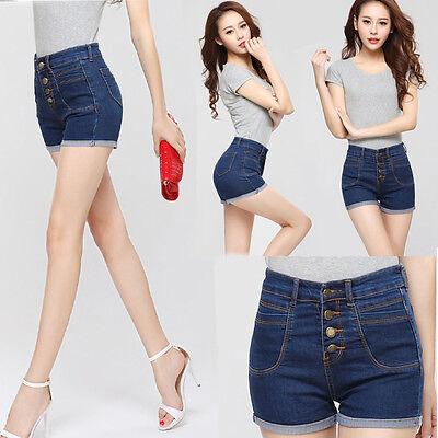 Summer Fashion Women Sexy High Waist Jeans Hot Pants Casual Denim Shorts Short