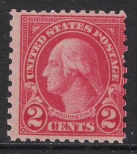 Scott-579-MNH-2c-Washington-1923-Rotary-Issue-Perf-11x10-unused-mint-stamp