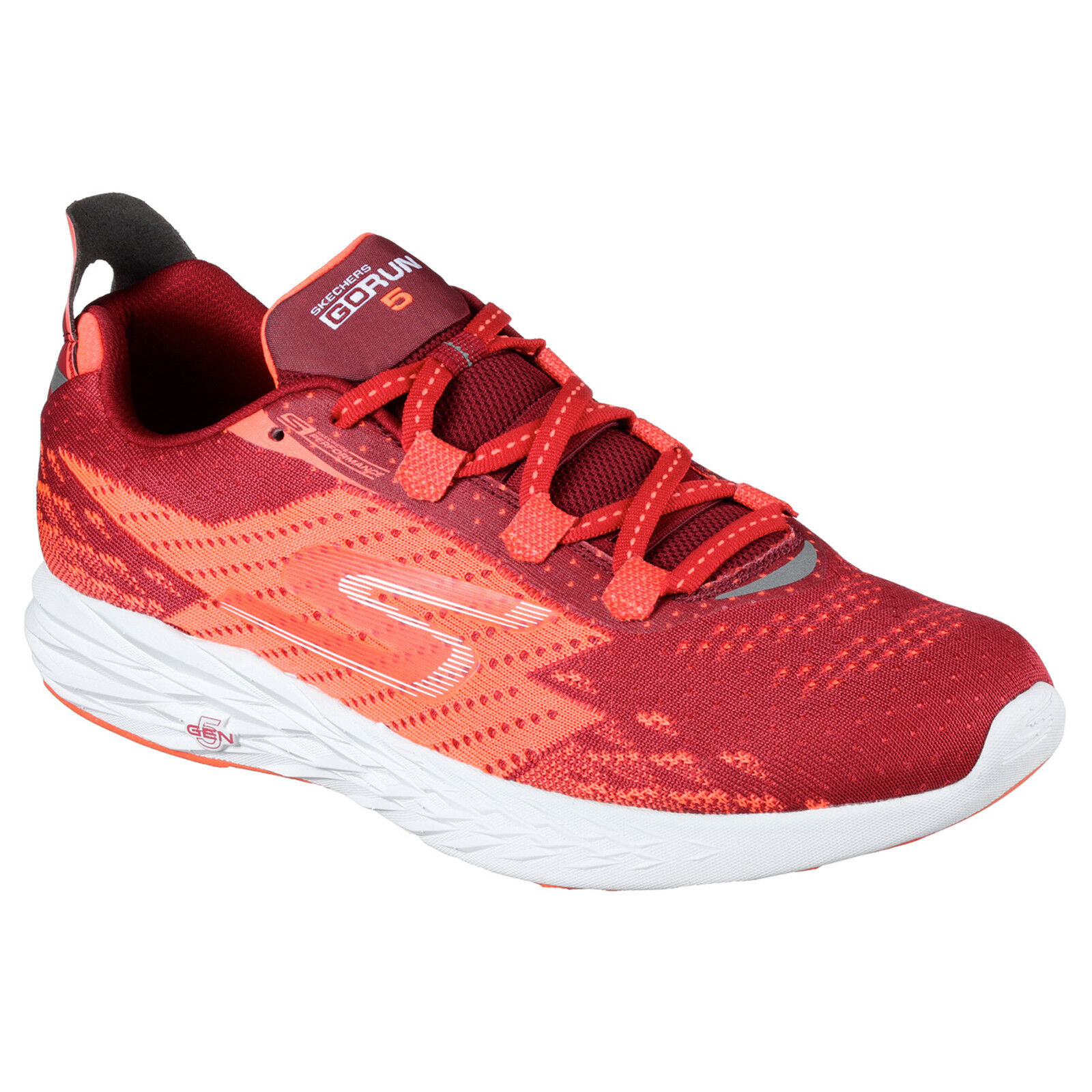 Skechers GoRun 5 Trainers Mens Sports Running Memory Foam Training Shoes Comfortable and good-looking