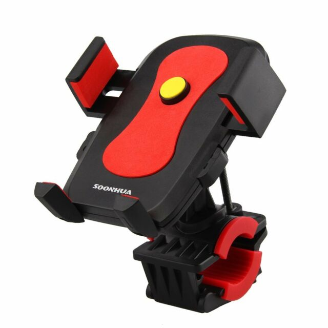 Auto Lock Motorcycle Bicycle MTB Bike Handlebar Mount Holder For Cell Phone GPS