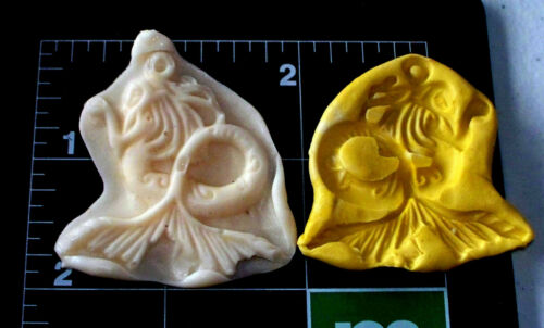 Mermaid B-Flexible Push Silicone Mold-Candy Cookie Crafts Fondant  Clay Crafts