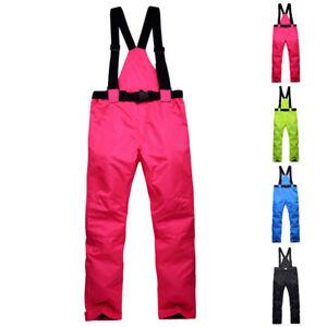 Women-Men-Ski-Snow-Pants-Insulated-Waterproof-Winter-Windproof-Overall-PLUS-SIZE