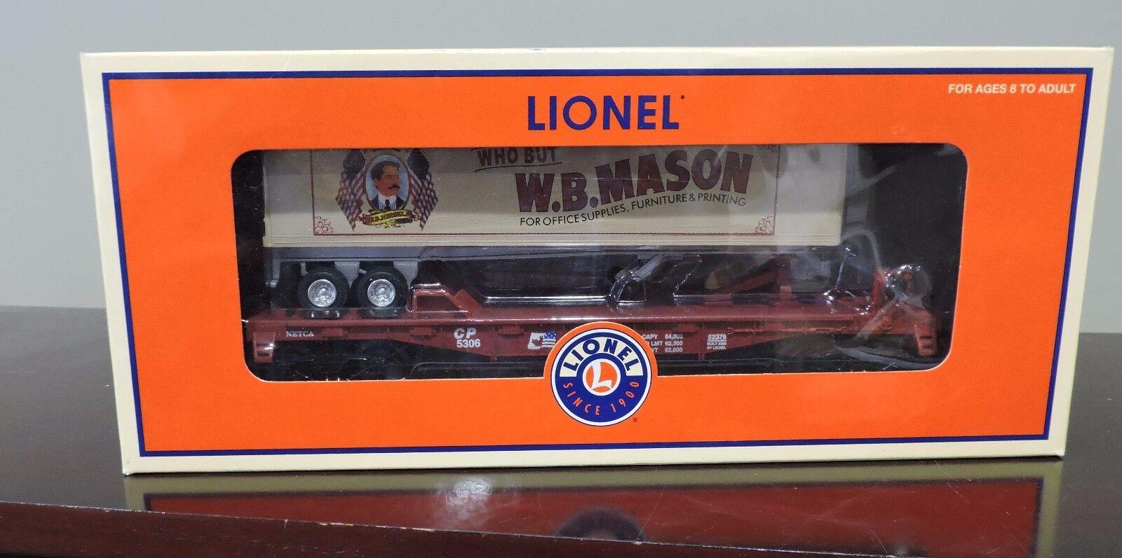 Tren Lionel  6-52379 W.b. Mason TOFC producido por netca Nuevo En Caja Abierto