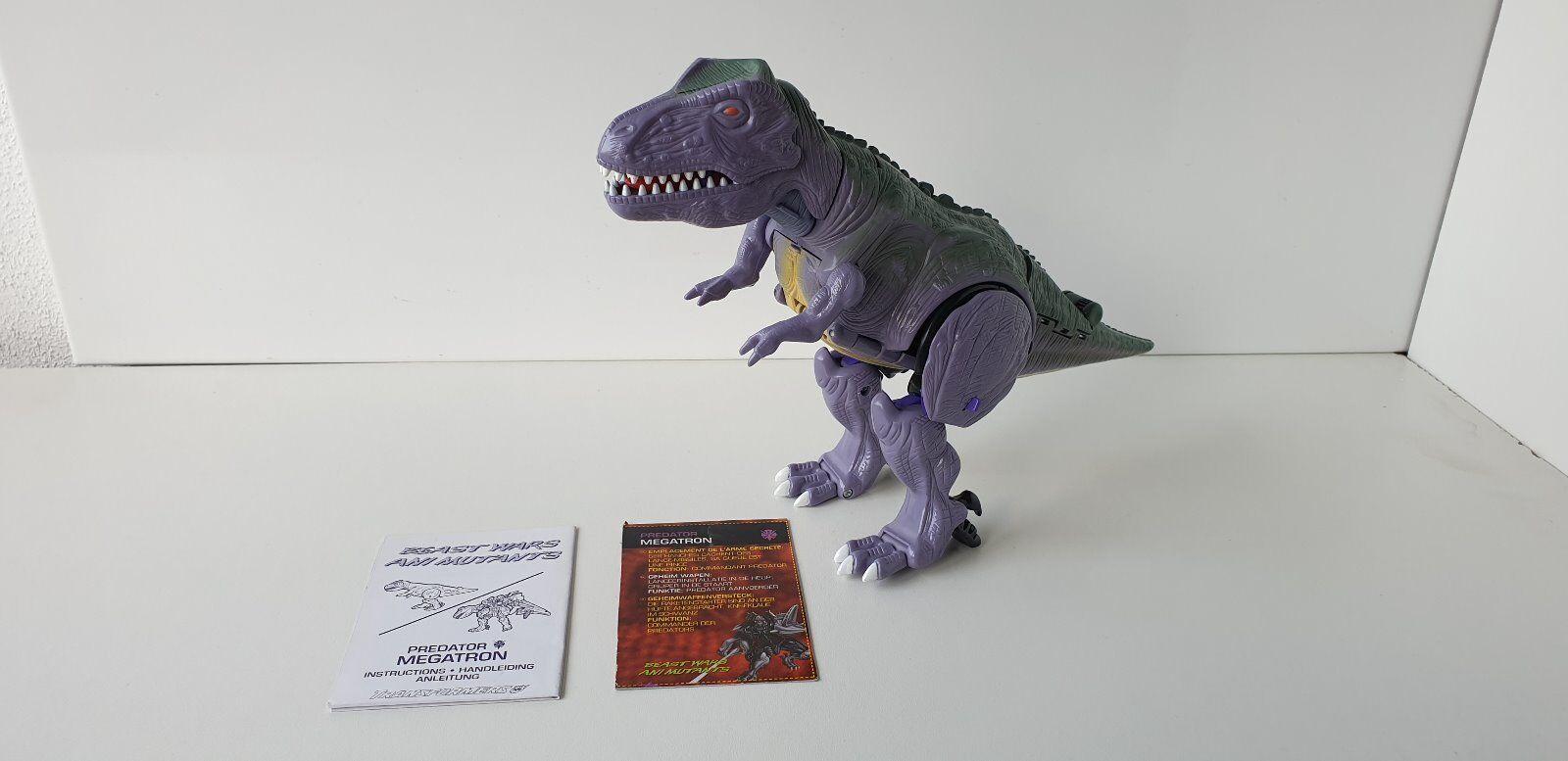 Transformers Beast Wars Megatron  Hasbro 1997 Ultra Class Predacon Predacon Predacon T-Rex  100% afcaf9