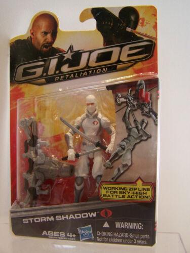 G.I Joe Gijoe Retaliation Storm Shadow with working Zip line MOC 2011