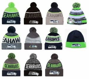 Seattle-Seahawks-Cuffed-Beanie-Knit-Winter-Cap-Hat-NFL-Authentic