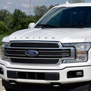 2015 2019 Ford F 150 Limited Hood Emblem Letter Set Chrome Ebay