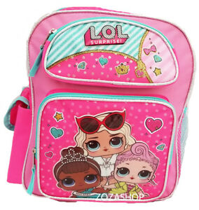 770dacc66ecd Image is loading L-O-L-Surprise-Small-School-Backpack-12-034-Girls-