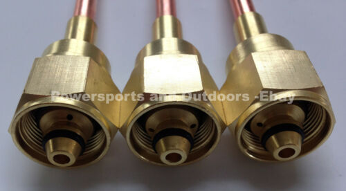 Victor Type HD 300 series 000,00,0 3pc Oxy//Acet Brazing//Welding Torch Tip Set