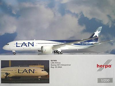 Herpa 1:200-557405 LAN airlines boeing 787-9 dreamliner-nuevo embalaje original
